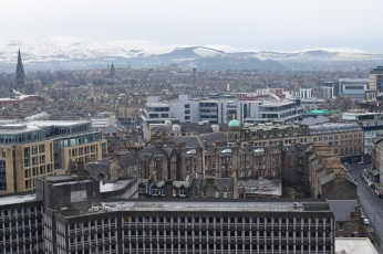 From the top of Edinburgh Castle.