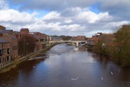 Bridge into the city