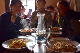 Everyone finally got their meal!