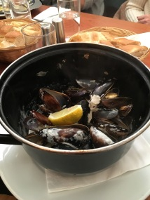 Edinburgh's famous mussels