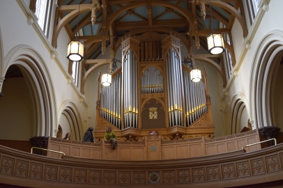 Organ in Dundee Cathedral