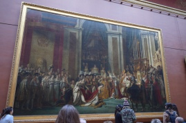 One of my favorite paintings, The Coronation of Napoleon. It's SO huge in person, I had to sit and look at it for a good 15 mins.