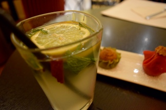 Lemonade with Mint Leaves