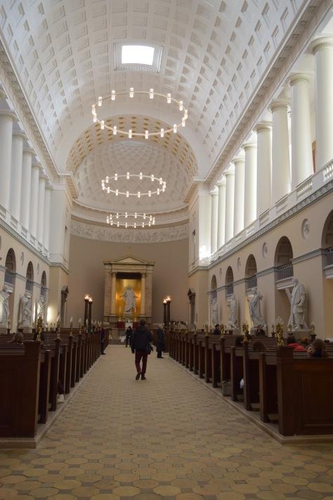 Inside of Trinitatis Church